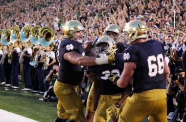 Notre Dame celebrated against Texas but they will need to prove themselves against top opponents
