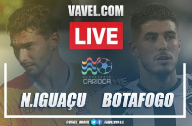Gols e melhores momentos de Nova Iguaçu 1 x 2 Botafogo pelo Campeonato Carioca