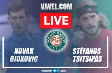 Melhores momentos Djokovic x Tsitsipas na final de Roland Garros 2021 (3-2)