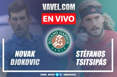 Djokovic vs Tsitsipas EN VIVO: ¿cómo ver transmisión TV online en Final Roland Garros?