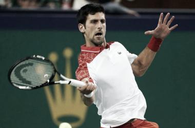 Concentración pura para manejar el partido. Foto: ATP.