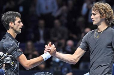 Resumen Djokovic 1 - 2 Zverev en Tokio 2020