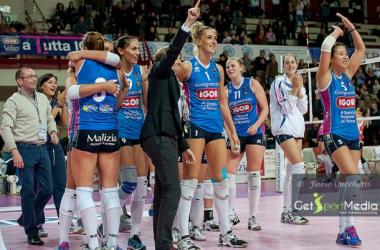 A1F: Igor Vittoria, Bergamo arrestata per 3 a 0 a Novara