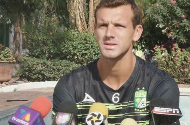 """Diego Novaretti: """"Lo más importante es llegar a liguilla y no perder"""""""