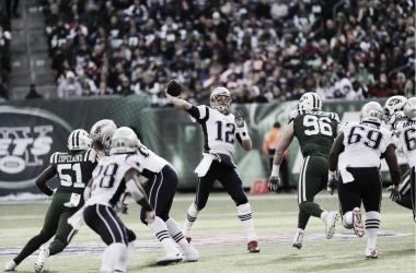 Partido histórico para Tom Brady este duelo divisional ante los New York Jets | Foto: Patriots.com