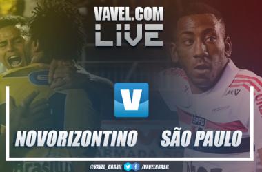 Gols e resultados Novorizontino x São Paulo no Campeonato Paulista 2019