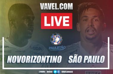 Gols e melhores momentos de Novorizontino 2 x 1 São Paulo pelo Campeonato Paulista 2021