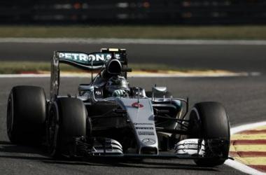 Rosberg precisou dos últimos 30 minutos de treino para poder superar Lewis Hamilton. (Foto: divulgação/FIA)