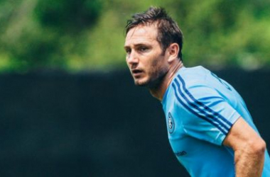 Frank Lampard. Photo courtesy of NYCFC.com
