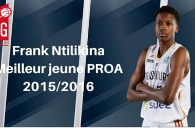 Ntilikina a été élu meilleur jeune de Pro A ce vendredi (Crédit : Twitter @sigstrasbourg)
