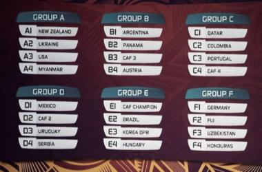 Este es el calendario del Mundial de fútbol Sub-20 de Nueva Zelanda 2015. Foto: FIFA.