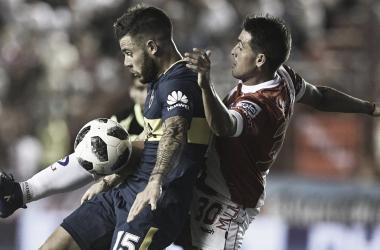 Último partido entre el Bicho y el Xeneize | Foto: Nuevo Diario