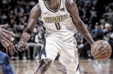 La figura del partido, Emmanuel Mudiay de Denver Nuggets.