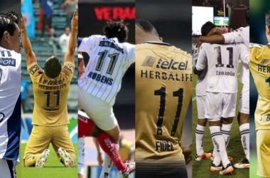 Cacho, Cortés, Sambueza, Fidel, Izazola, Berjón, los últimos '11' de Pumas (Fotomontaje: Andrés Ocampo)