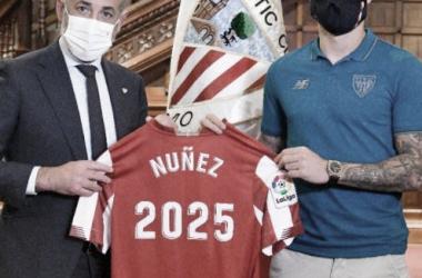 Unai Núñez renueva hasta 2025