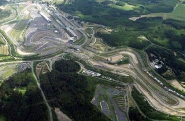 Vista aérea de Nürburgring (Foto: Walter Koch).