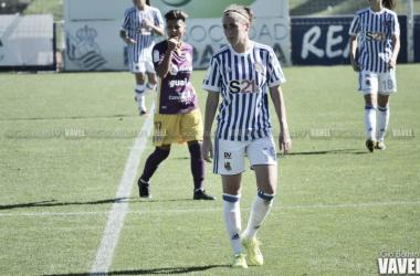 """Nuria Mendoza: """"Esperamos ponerle las cosas difíciles en Zubieta y sacar los tres puntos"""""""