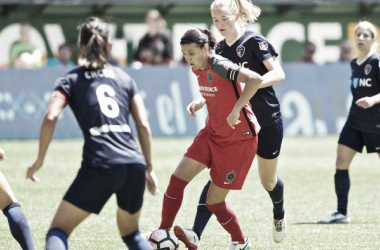 North Carolina Courage and Portland Thorns face off for the title. | Source: Craig Mitchelldyer - ISI Photos