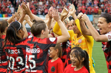 Portland Thorns ready to rock (Credit: NWSL)