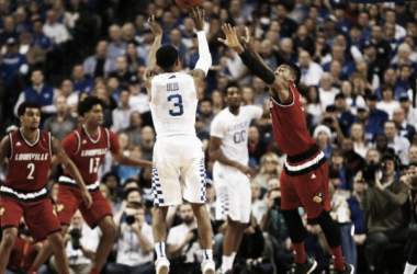 Kentucky survived Louisville's comeback bid 75-73 last year in Rupp Arena. (Photo: USATSI/Frank Victores)
