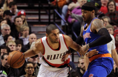 Carmelo Anthony Sits Out Second Half As New York Knicks Drop Eighth Straight Game In Loss To Portland Trail Blazers