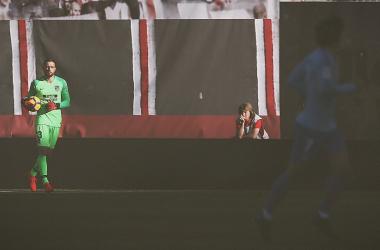 Jan Oblak y Antoine Griezmann en Vallecas || FOTO: Club Atlético de Madrid.