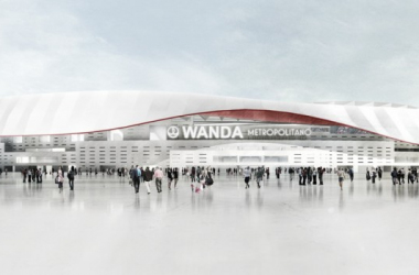 Projeto do Estadio Wanda Metropolitano, nova casa do Atlético de Madrid (FOTO:Divulgação/Atlético de Madrid)