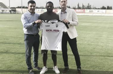 Jeremie Bela refuerza la delantera del Alba | FOTO: Albacete Balompié