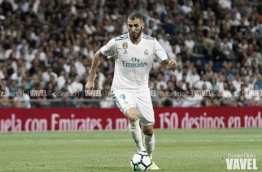 El Madrid necesita los goles de su '9' / Foto: Daniel Nieto (VAVEL)