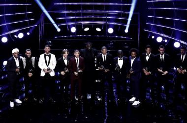 David De Gea y Sergio Ramos, los únicos futbolistas españoles en el once ideal FIFA/FIFPro | Fotografía: FIFA Football Awards
