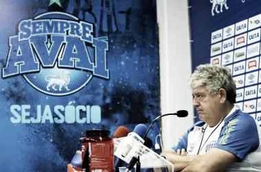 Técnico falou sobre a derrota por 1 a 0 para o Coxa (Foto:André Palma Ribeiro/Avaí F. C.)