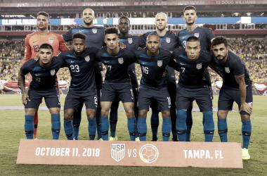 La selección de las barras y las estrellas sumó su cuarta derrota ante los Cafeteros | Fotografía: U.S. Soccer