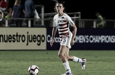 USWNT vs Jamaica for a spot in the 2019 Women's World Cup. (Photo by Action Foto Sport/NurPhoto via Getty Images)