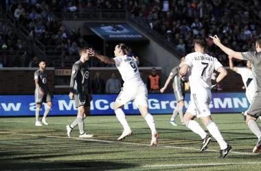 Zlatan Ibrahimovic, el segundo máximo artillero de la MLS con 22 tantos. | Fotografía: Los Angeles Galaxy