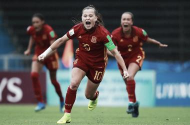 Claudia Pina , una de las jugadoras más talentosas de la Roja | Fotografía: FIFA Women's World Cup