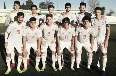 La Roja Sub 18 se mantiene invicta en 2018 | Fotografía: Sefútbol