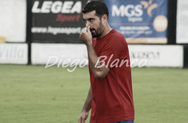 Marcos Iglesias, en un encuentro de esta temporada. Foto: Diego Blanco, VAVEL