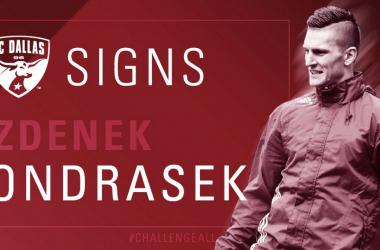 Zdenek Ondrasek, el flamante refuerzo de los vaqueros | Fotografía: FC Dallas