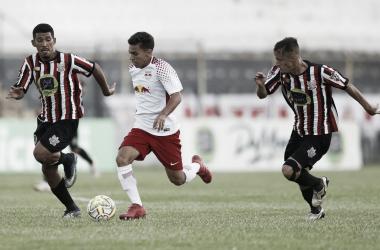 RB não conseguiu a vitória diante do Paulista (Foto: Divulgação/RB Brasil Futebol)