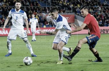 España 1-0 Bosnia y Herzegovina | Fotografía: EFE