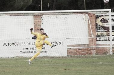 Farolo, meta del Atlético Tordesillas, en un encuentro de esta temporada. Foto: Twitter.