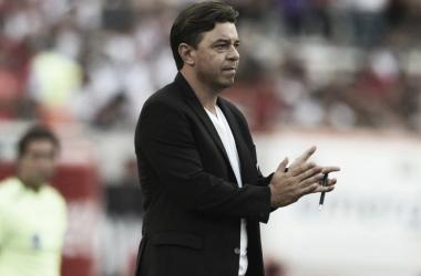 El Muñeco Gallardo buscará ganarle por primera vez a Newell´s de local, como DT. Foto: Diario AS.