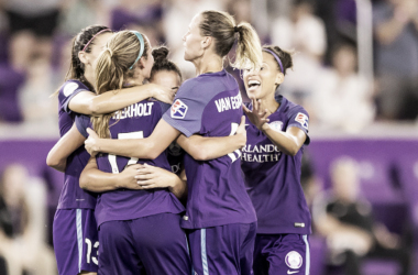 Orlando Pride announce the 2019 Preseason roster. (Photo by Andrew Bershaw/Icon Sportswire via Getty Images)
