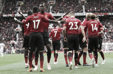 El Manchester United, rival del Barcelona en cuartos de final de la UEFA Champions League. FOTO: WA