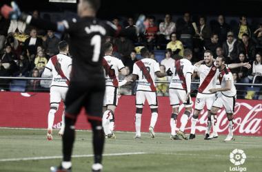 Celebración del gol de Mario Suárez | Fotografía: LaLiga Santander