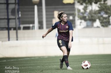 Mariona Caldentey con el Barça Femenino. Foto: Noelia Déniz, VAVEL