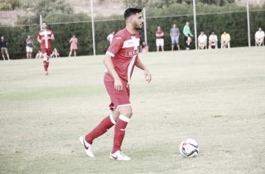 Moisés García en el primer amistoso de la temporada | Foto: FC Cartagena