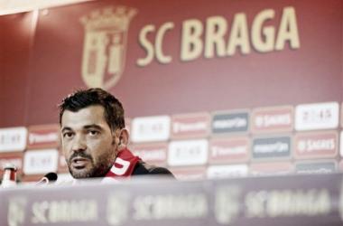 Com Conceição, o Sporting de Braga não vai querer repetir o 9.º lugar da época passada. (Foto: Global Imagens)
