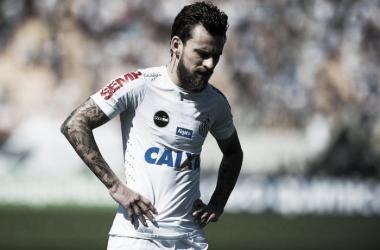 Meia caiu de rendimento em 2017, e virou alvo da torcida(Foto: Ivan Storti/Santos FC)