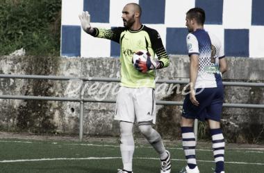 Pablo Herrero, durante un encuentro de Copa Federación. Foto: Diego Blanco VAVEL